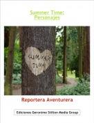 Reportera Aventurera - Summer Time:Personajes