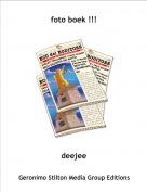 deejee - foto boek !!!