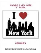 allesandra - VIAGGIO A NEW YORK1° TAPPA