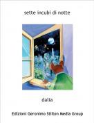 dalia - sette incubi di notte