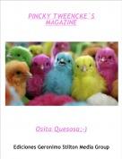 Osita Quesosa;-) - PINCKY TWEENCKE´S MAGAZINE