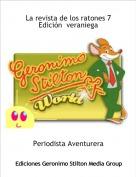 Periodista Aventurera - La revista de los ratones 7Edición  veraniega