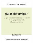 larafontina - Solamente Gracias BFFS