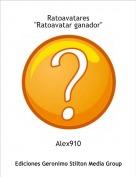"""Alex910 - Ratoavatares""""Ratoavatar ganador"""""""