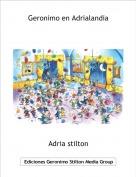 Adria stilton - Geronimo en Adrialandia