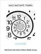 maria2408 - HACE BASTANTE TIEMPO