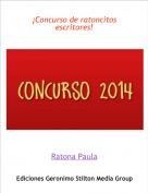 Ratona Paula - ¡Concurso de ratoncitos escritores!