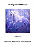 mienie1 - De magische eenhoorn