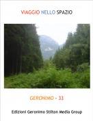 GERONIMO - 33 - VIAGGIO NELLO SPAZIO
