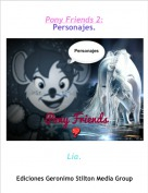 Lía. - Pony Friends 2:Personajes.