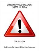 RatiNatalia - IMPORTANTE IMFORMACION SOBRE LA SAGA