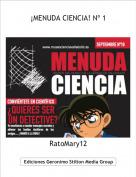 RatoMary12 - ¡MENUDA CIENCIA! Nº 1