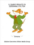 °-° Simona °-° - IL DIARIO PRIVATO DIGERONIMO STILTON