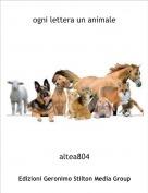 altea804 - ogni lettera un animale