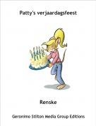 Renske - Patty's verjaardagsfeest