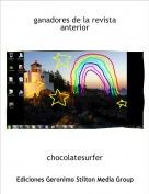 chocolatesurfer - ganadores de la revista anterior
