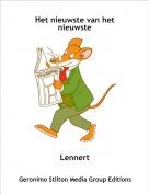 Lennert - Het nieuwste van het nieuwste