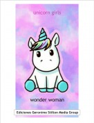 wonder woman - unicorn girls