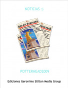 POTTERHEAD2009 - NOTICIAS :)