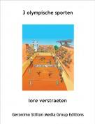 lore verstraeten - 3 olympische sporten