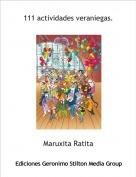 Maruxita Ratita - 111 actividades veraniegas.