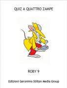 ROBY 9 - QUIZ A QUATTRO ZAMPE