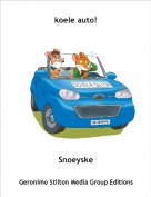 Snoeyske - koele auto!