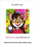 Ratiencesto para Ratimarina - Un añito más.