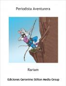 Rariam - Periodista Aventurera