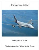 bemita corazon - destinazione:india!