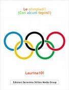 Laurina10! - Le olimpiadi!(Con alcuni topini!)