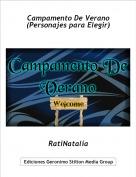 RatiNatalia - Campamento De Verano(Personajes para Elegir)