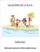 CAROLINA1 - VACACIONES EN LA PLAYA