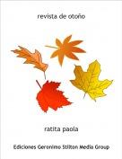ratita paola - revista de otoño