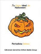 Periodista Stilton - ¡Tu fiesta ideal de Halloween!
