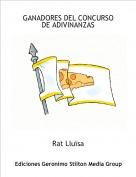 Rat Lluïsa - GANADORES DEL CONCURSO DE ADIVINANZAS
