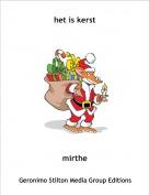 mirthe - het is kerst