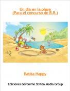 Ratita Happy - Un día en la playa(Para el concurso de R.R.)