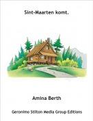 Amina Berth - Sint-Maarten komt.
