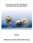 Hielos - Las aventuras de Tenebrosa:¿Dónde está Escalofriosa?