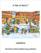 voetflore - is het al kerst ?