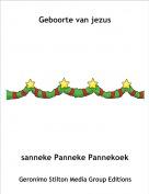 sanneke Panneke Pannekoek - Geboorte van jezus