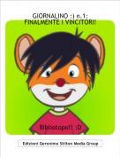 Bibliotopo!! :D - GIORNALINO :) n.1:FINALMENTE I VINCITORI!