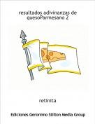 retinita - resultados adivinanzas de quesoParmesano 2