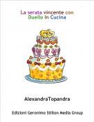 AlexandraTopandra - La serata vincente con Duello In Cucina