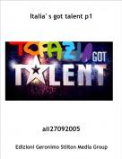 ali27092005 - Italia' s got talent p1