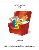 jimena - raton lector nº 6