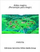 mielcita - Aldea magica(Personajes para elegir)