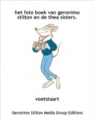 voetstaart - het foto boek van geronimo stilton en de thea sisters.