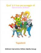 Topolini4 - Qual' è il tuo personaggio di Geronimo Stilton